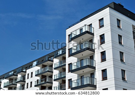 Modern, Luxury Apartment Building #634812800