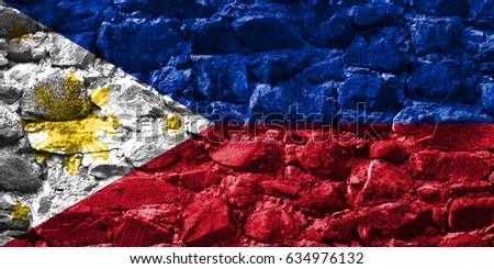 Flag of Philippines #634976132