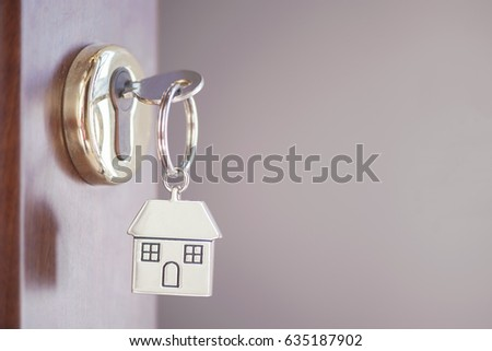 House key in the door #635187902