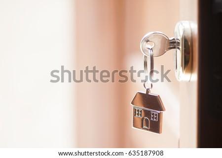 House key in the door #635187908