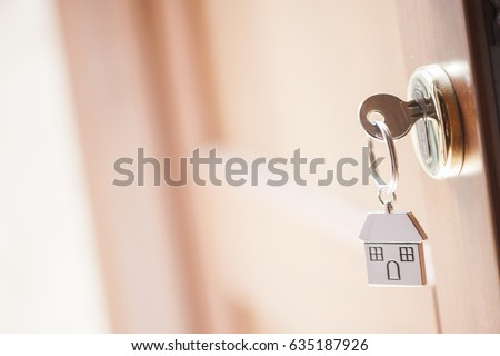 House key in the door #635187926