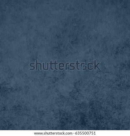 Blue designed grunge background. Vintage abstract texture #635500751