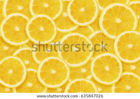 Lemons cuted background #635847026