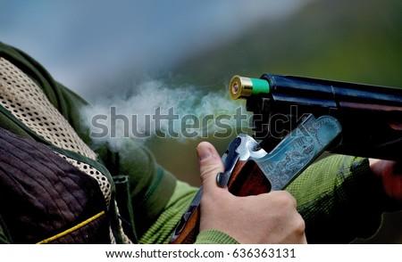shotgun throwing its shell #636363131