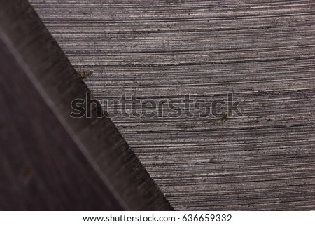 Iron steel metal texture macro background. Macro scissors detail texture  #636659332