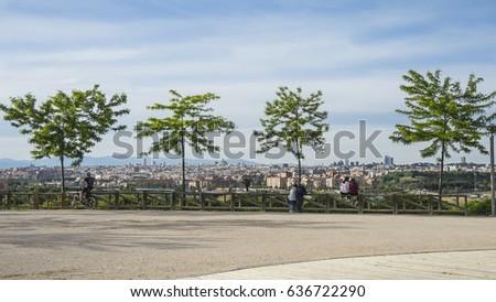 Manzanares linear park #636722290