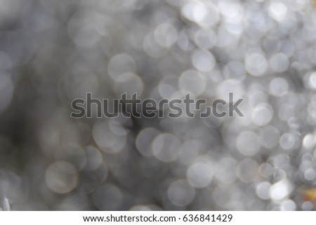 Blurred background bokeh white, Abstract grey silver blur background #636841429