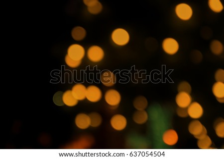 blurred of colorful bokeh light background #637054504