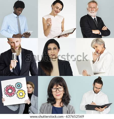 Studio People Collage Business Concept #637652569