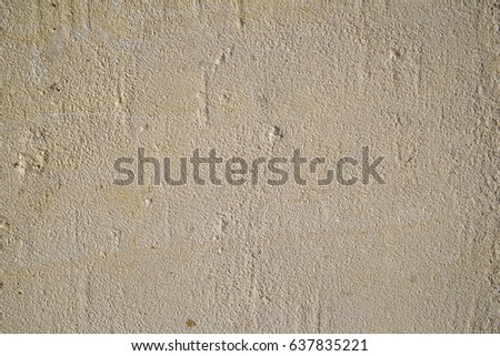 Rough rendered exterior wall full frame background texture #637835221