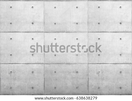 concrete wall - exposed concrete Royalty-Free Stock Photo #638638279