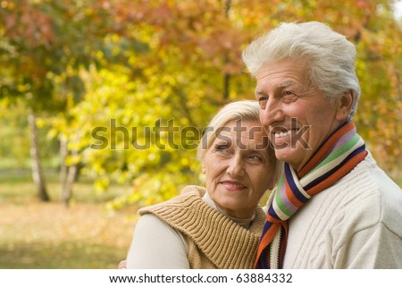happy elderly couple #63884332