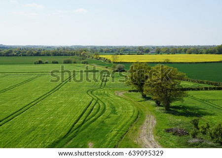 Countryside in England #639095329