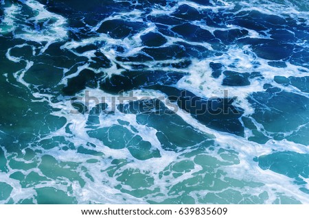 Rippled ocean water, Abstract Ocean and sea Water Texture #639835609