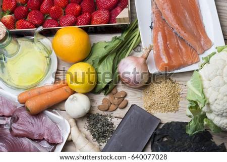 Antioxidant food #640077028