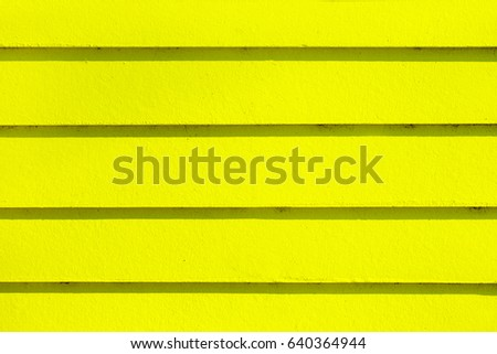 Yellow deck board wood texture background. #640364944