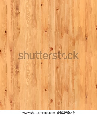 Vector wooden planks. Wood texture background. #640395649