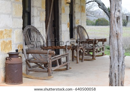 Texas Hill Country Porch #640500058