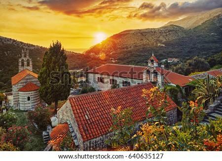 Church in Buljarica, Montenegro #640635127