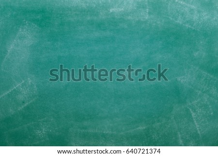 abstract dirty green chalkboard for background Royalty-Free Stock Photo #640721374