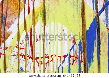 Colorful Wall Texture #641419495