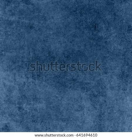 Blue designed grunge background. Vintage abstract texture #641694610