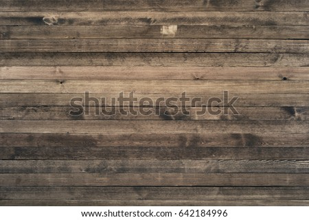 Dark wood texture background surface with old natural pattern. Grunge surface rustic wooden table top view #642184996