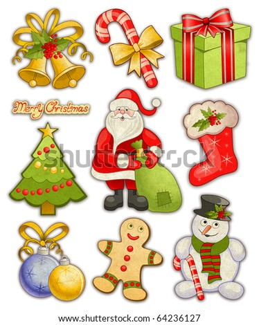 Collection of christmas illustrations