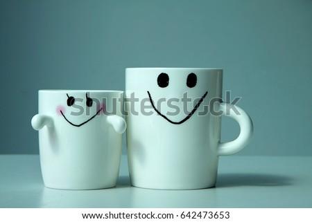 Caremic cute cup #642473653