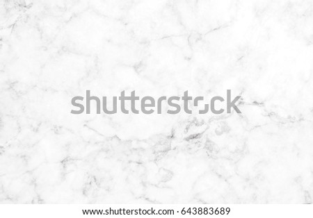 White marble texture with subtle grey veins (Natural pattern for backdrop or background, Can also be used for create surface effect to architectural slab, ceramic floor and wall tiles)