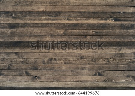 Wooden worktop surface with old natural pattern. #644199676