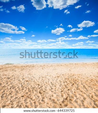 Summer beach #644339725