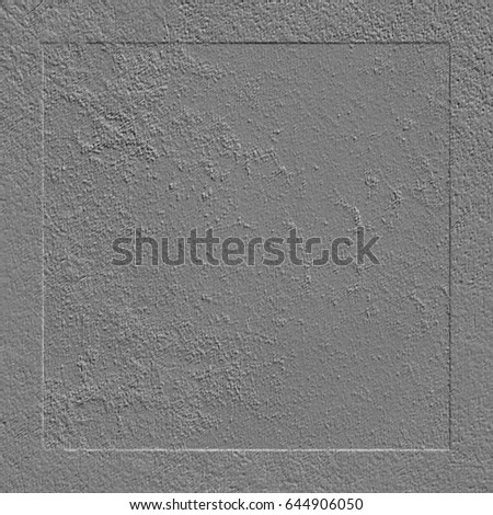 Gray concrete wall. Cement wall #644906050