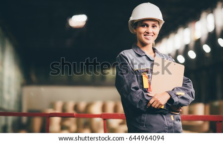 paper mill factory worker #644964094