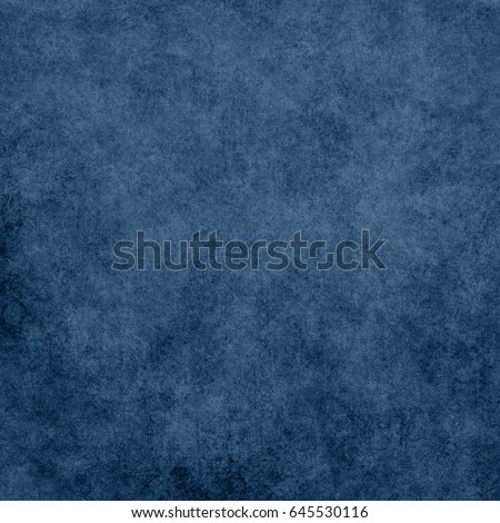 Blue designed grunge background. Vintage abstract texture #645530116