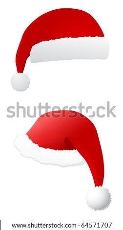 santa's hat - vector #64571707