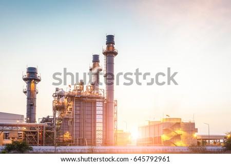 power plant Royalty-Free Stock Photo #645792961