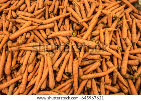Dirty Carrots Background #645967621