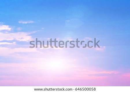 colorful sun sky as background #646500058