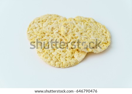 puffed corn snack #646790476