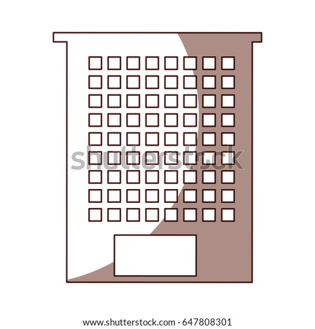 exterior building drawing icon #647808301