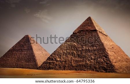 giza pyramids, cairo, egypt #64795336