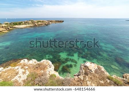 Marine Protected area of Plemmirio in Syracuse - Sicily, Italy #648154666