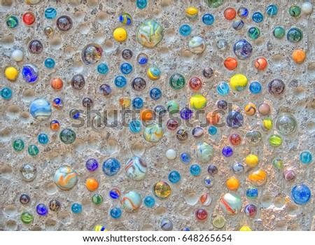 Rainbow Marbles. #648265654