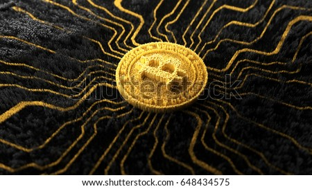 Crypto-currency Royalty-Free Stock Photo #648434575