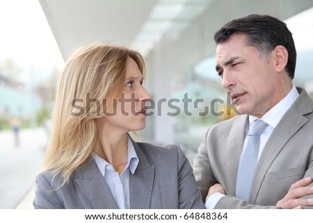Portrait of business partners #64848364