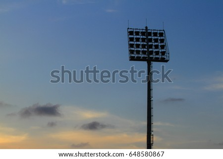 Spotlight for Stadium #648580867