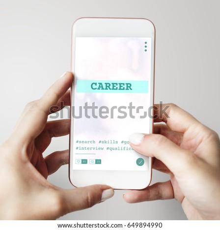 Job Career Hiring Recruitment Qualification Graphic #649894990