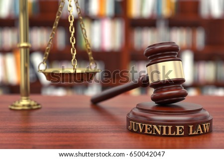 Juvenile law Royalty-Free Stock Photo #650042047