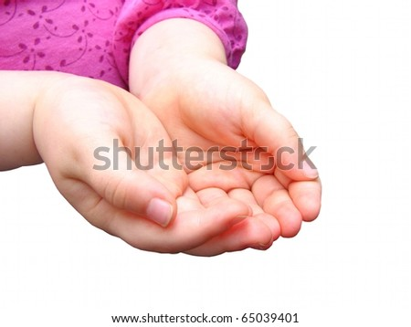 Small Child's Hands 2 #65039401